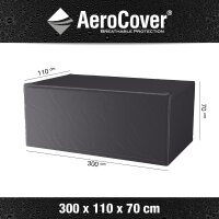 Aero-Cover Garden Table 300x110x70 cm