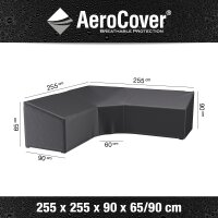 Aero-Cover Lounge Set 255x90x65/90 cm