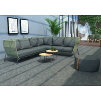 Sofa Set Altoro Green 4 teilig