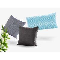 Pillow Fontalina 30x60 Mid Grey