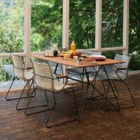 CLICK - Dining Chair mit Bambus Armlehnen
