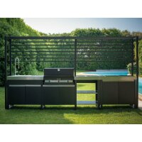 Outdoor Kitchen Barbecue 750