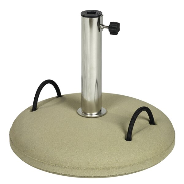 Concrete Bases 30kg taupe with hand grips