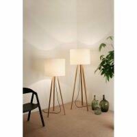 Floor lamp Luca Lean Oak natural finish