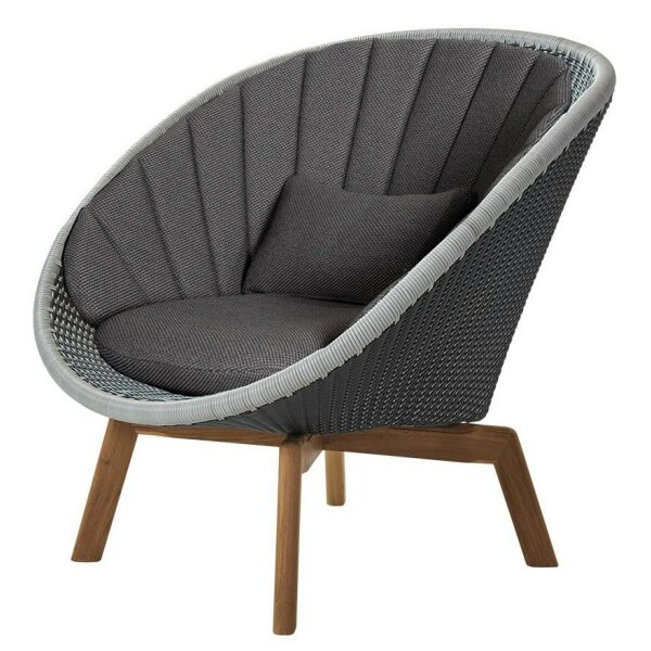 Armchair Set Peacock Lounge Weave