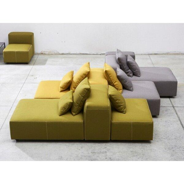 Sofainsel mit Rückenlehne Modulor Kategorie D