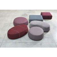 Pouf Stone rectangle
