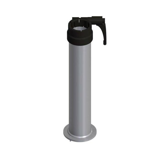 Glatz tubo portante M4 P+ acciaio zincato Fortello