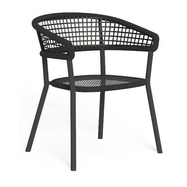 Sessel Moon Alu Dining Chair mit Armlehnen