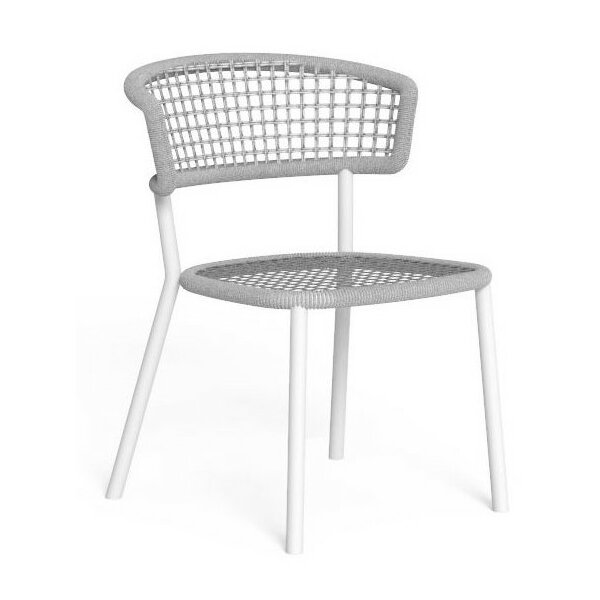 Armchair Talenti Moon Alu Dining Chair without Armrests