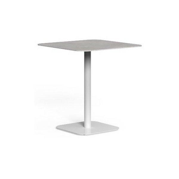 Moon Alu table 80x80 cm