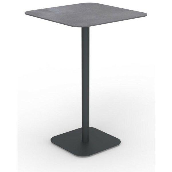 Moon Alu table 70x70 cm