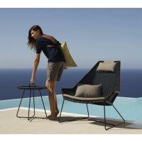 Breeze sedia con alto schienale