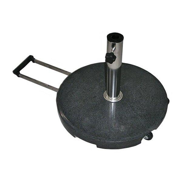 Granite base 40kg in black round