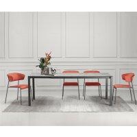 Tisch Pranzo Anthrazit 90x160-210x73cm
