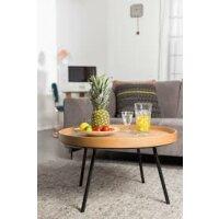 Coffee Table Oak Tray