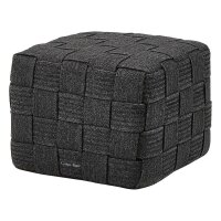 Pouf Cube Foodstool Soft Rope