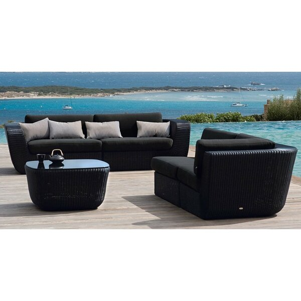 Sofa Set Savannah Black