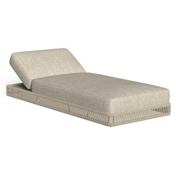 Rope beige, beige cushion